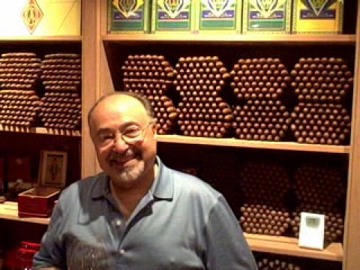 Dave Savona Tours Cigar Room