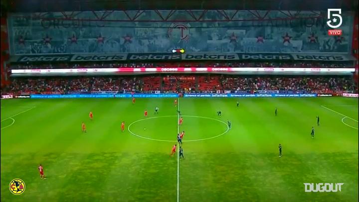 Apertura Quarter Finals First-Leg Highlights: Toluca 2-2 Club América
