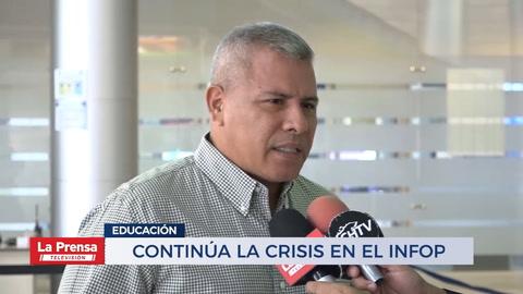 Continúa la crisis en el INFOP