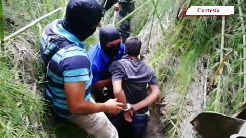 Así fue la captura y trasladan a pandillero de la 18 por agentes del orden publico