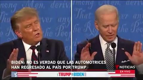Joe Biden llama payaso a Donald Trump