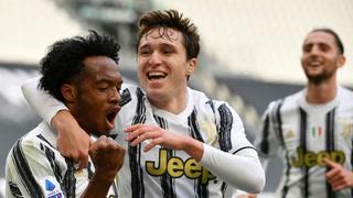 Cuadrado le da oxígeno a la Juventus y de penal concreta la remontada ante Inter