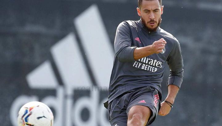Hazard, Isco, Militão, Asensio y Lucas Vázquez continúan su puesta a punto en el Real Madrid