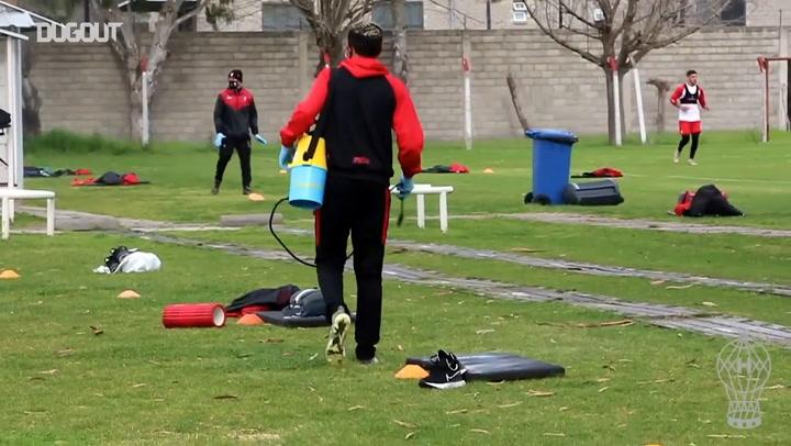 Huracán prepare for the new season