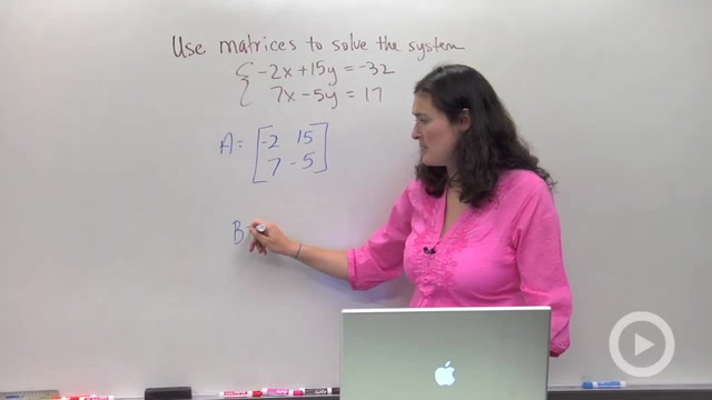 Solving Systems using Matrices - Problem 1