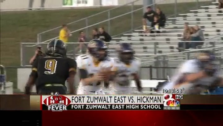 Hickman at Fort Zumwalt East FNF Week Three