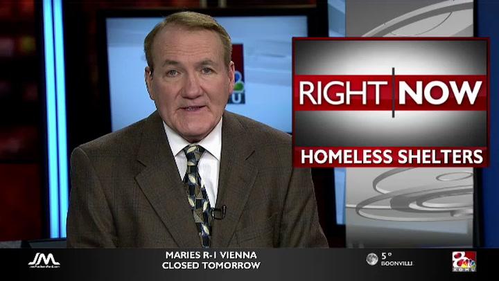 Homeless shelters at capacity