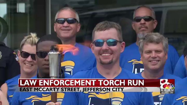 Law enforcement torch run kicks off Special Olympics weekend