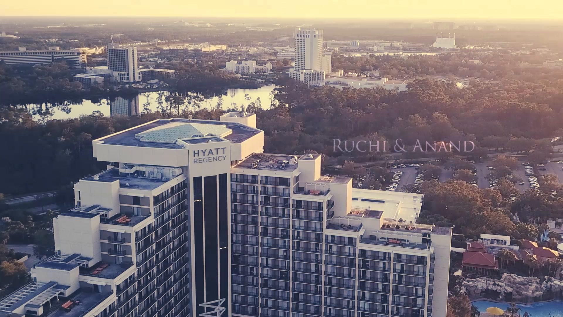 Ruchi + Anand | Orlando, Florida | Hyatt Regency