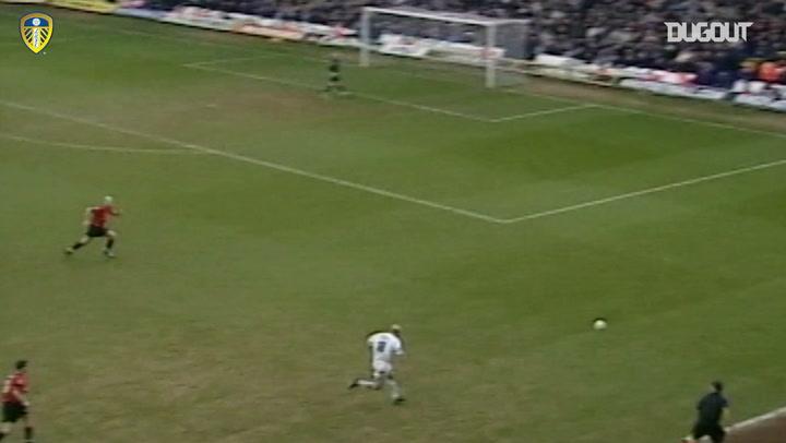 Mark Viduka's flying header against Manchester United