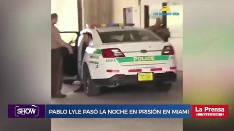 Pablo Lyle pasó la noche en prisión en Miami