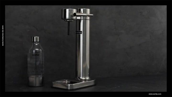 Preview image of Aarke Carbonator II Sparkling Water Maker video