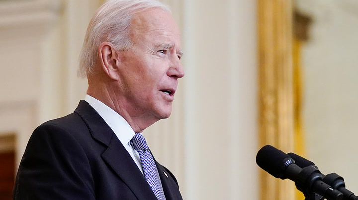 Watch live as Joe Biden speaks on crime prevention