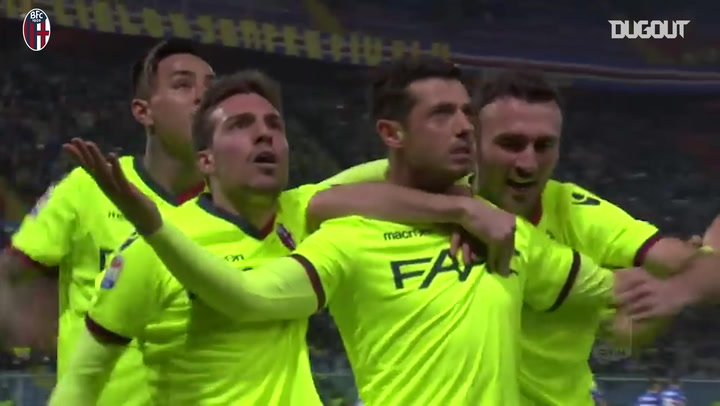 Blerim Džemaili long-distance stunner Vs Sampdoria