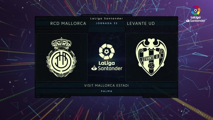 LaLiga (J35): Resumen y goles del Mallorca 2-0 Levante