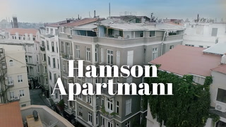 Hamson Apartmanı – Notaların, renklerin oturduğu apartman