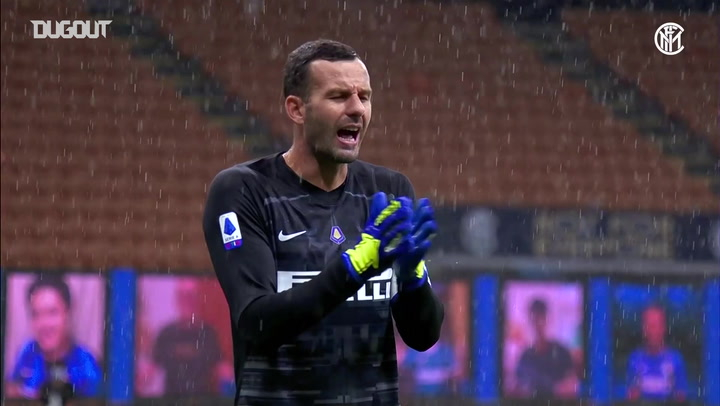 Samir Handanovic's great performance vs Fiorentina