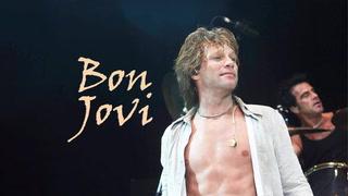 En yakışıklı rock star Jon Bon Jovi