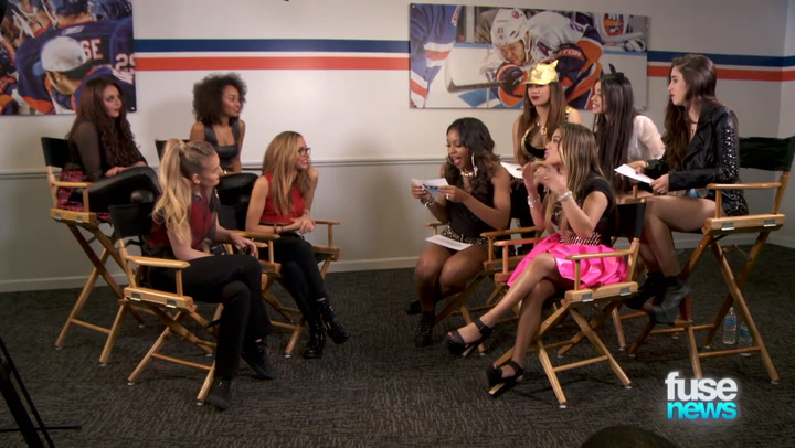 Shows: Fuse News: Little Mix 5th Harmony Press