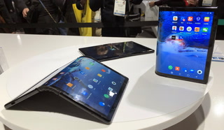 CES 2019: World's First Foldable Smartphone – VIDEO