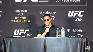 Kevin Lee discusses his loss to Tony Ferguson at UFC 216