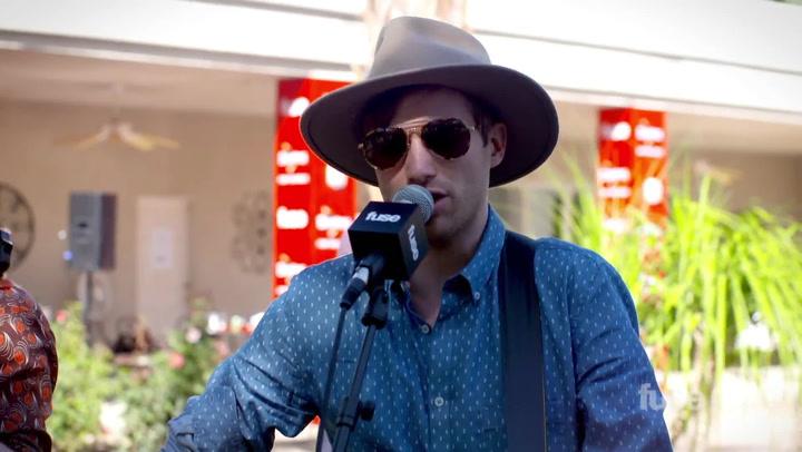 "Coachella 2015: St. Motel Perform ""My Tape"" Live"