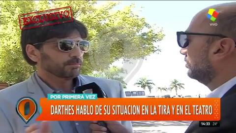 Juan Darthés rompió el silencio tras la denuncia de Calu Rivero