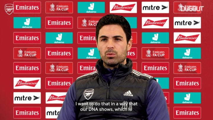 Arteta: 'Arsenal has to challenge for every trophy'
