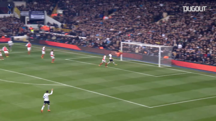 Incredible Goals: Harry Kane's Derby Delight Vs Arsenal
