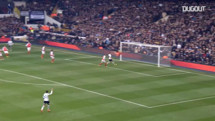 Incredible Goals: Harry Kane's Derby Delight Vs Arsenal