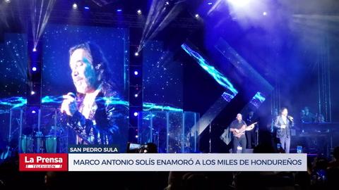 Marco Antonio Solís enamoró a los miles de hondureños