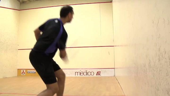 Squash: Hvordan utføre et forehand-slag