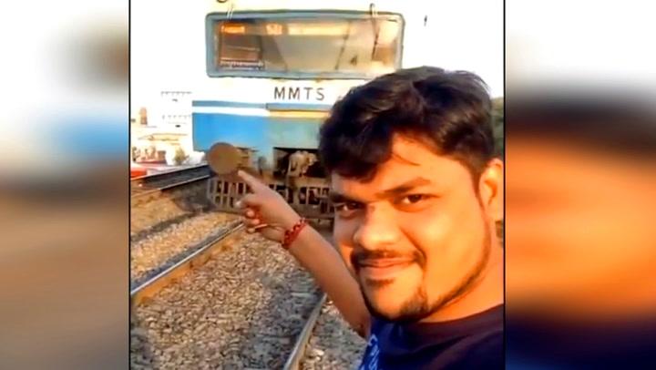 Student (25) ville ta unik tog-selfie - lurer døden