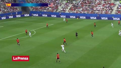 España 1 - 2 Estados Unidos (Mundial Femenino 2019)