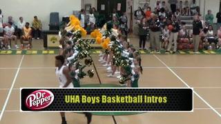 UHA Boys Basketball Players Introductions