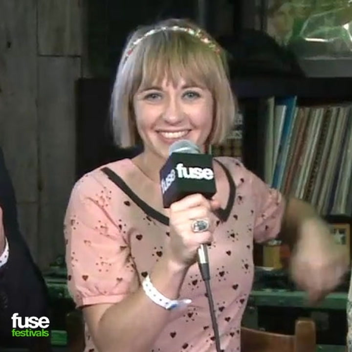 """Joy Formidable on Tour With Muse: """"We Shared a Bathroom Stall!"""""""