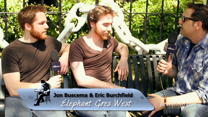 Elephant Goes West is interviewed on The Jimmy Lloyd Songwriter Showcase