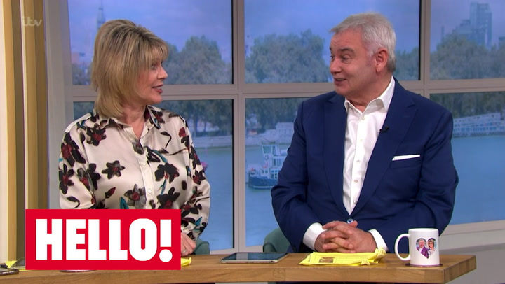 Eamonn Holmes and Ruth Langsford avoid mentioning axe reports