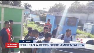 Sepultan a reconocido ambientalista en la Ceiba