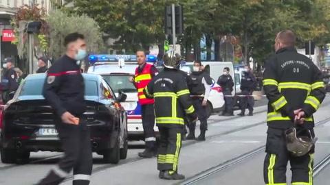 Tres muertos por ataque con cuchillo en iglesia en ciudad francesa de Niza