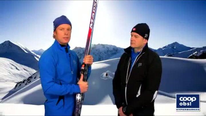 Bjørn Dæhlis skitips: Hvordan gå med skøyteteknikk
