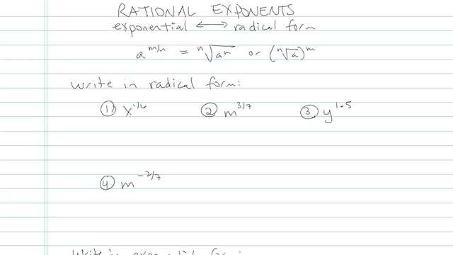 Rational Exponents - Problem 4