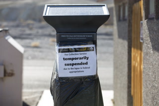 Death Valley visitors deal with shutdown