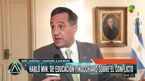 Finocchiaro dijo que Ctera es más peligroso que DElía