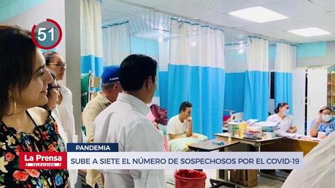 Suman siete los sospechosos por coronavirus en Honduras y otras noticias