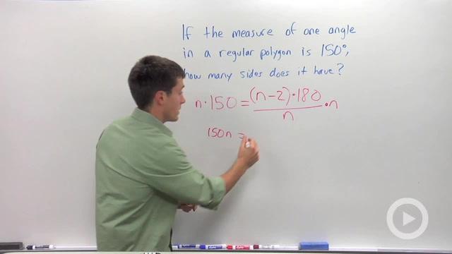 Equiangular Polygon Sums - Problem 2