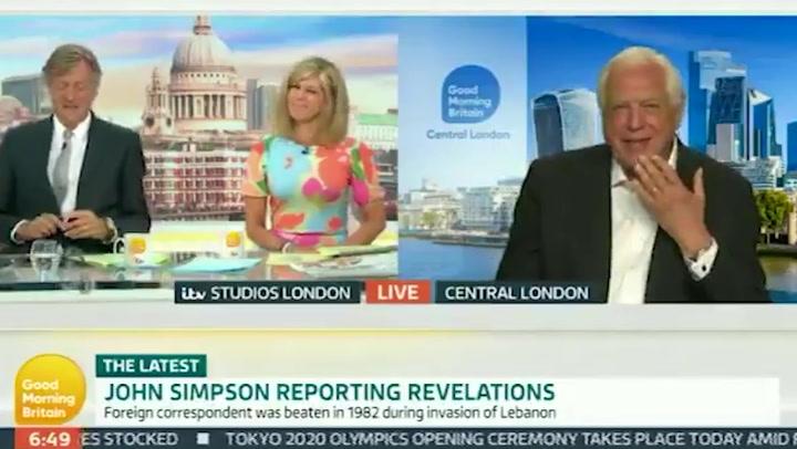 John Simpson yells 'w****r' on Good Morning Britain before 7am