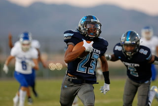 Canyon Springs defense holds off Green Valley 24-22