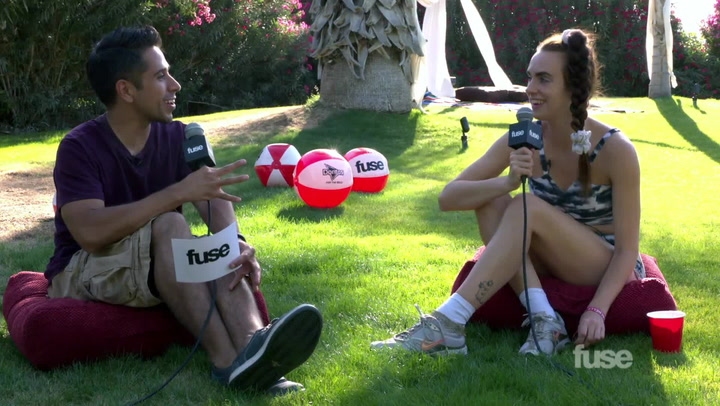 Coachella 2015: MØ Explains Coachella To Her Parents
