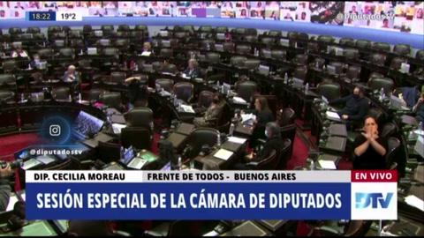 Diputado de Argentina protagoniza escena sexual en sesión parlamentaria remota